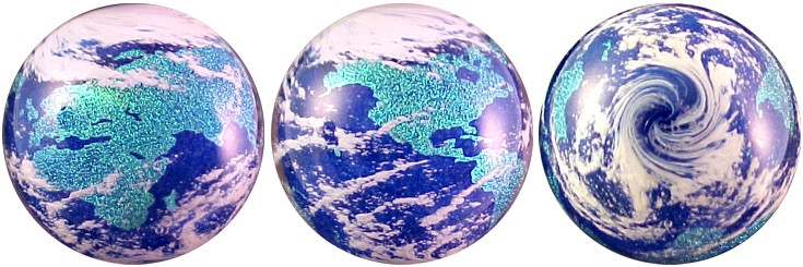 Dichroic World Marble