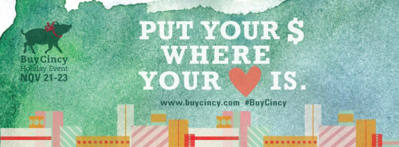 BuyCincy Holiday Event Nov 21-23