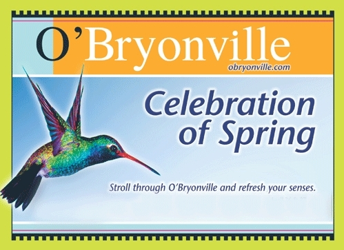 annuul event in O'Bryonville ~ a Celebration of Spring, every April