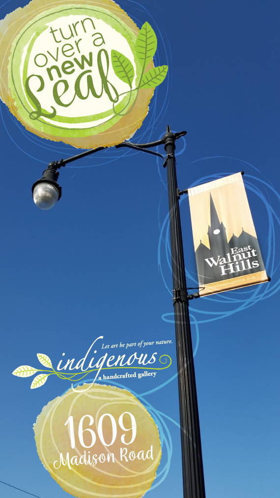 turn over a new leaf with indigenous this summer ~ new location 1609 Madison