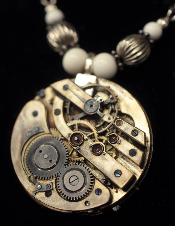 Watch part pendant~ Rena Hopkins