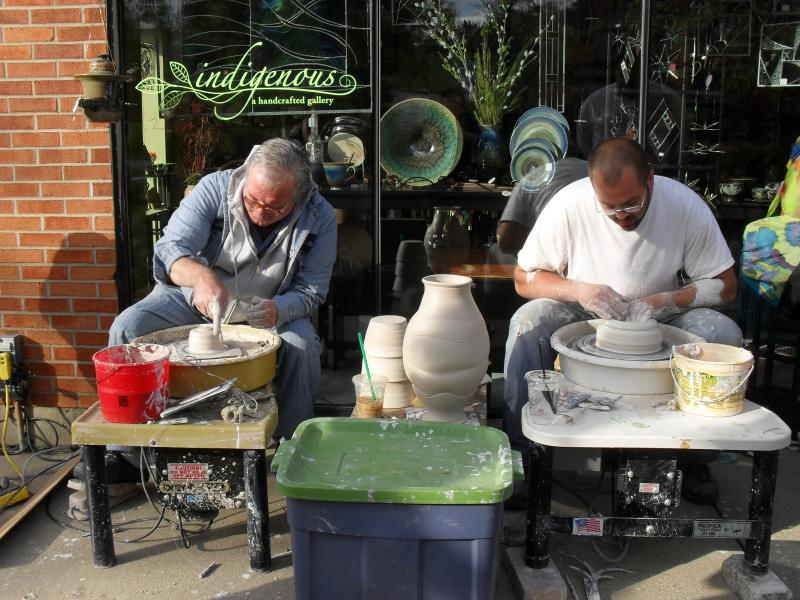 Core Clay potters throw-down with John Mason + Sam Hitchman. go potters