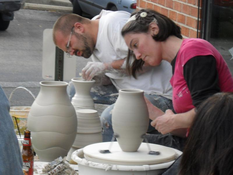 MEET Ceramic Artists, Sam Hitchman & Laura Davis