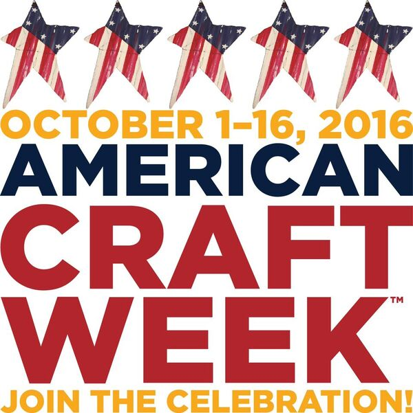 American Craft Week October 1-16, 2016