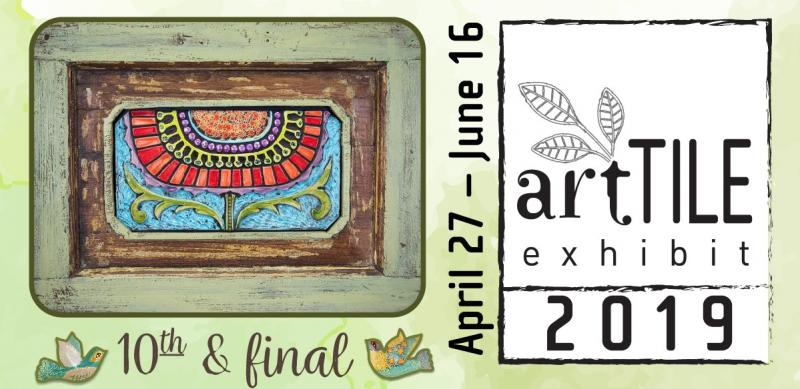 June 16 is the FINAL day of our FINAL artTILE group exhibit