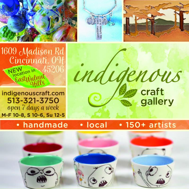 help us continue the rich tradition of handmade arts & crafts in Cincinnati